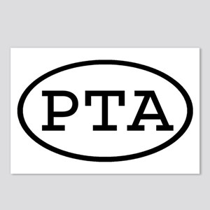 PTA Oval Postcards (Package of 8)
