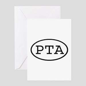 PTA Oval Greeting Card
