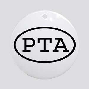 PTA Oval Ornament (Round)
