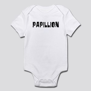 Papillion Faded (Black) Infant Bodysuit