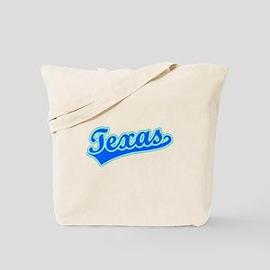 Retro Texas (Blue) Tote Bag