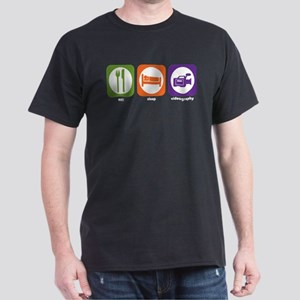 Eat Sleep Videography Dark T-Shirt
