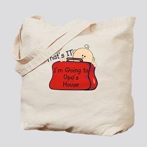 Going to Opa's Funny Tote Bag