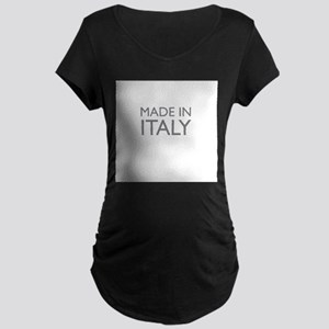 Made in Italy Maternity Dark T-Shirt