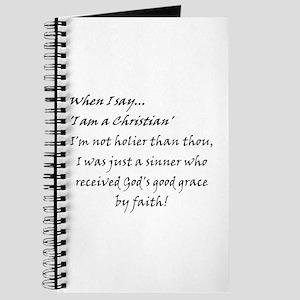 Sinner with Faith Journal