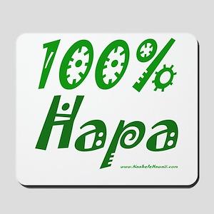 100% Hapa Mousepad
