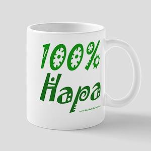 100% Hapa Mug - right hand