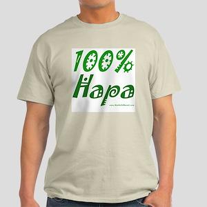 100% Hapa Ash Grey T-Shirt