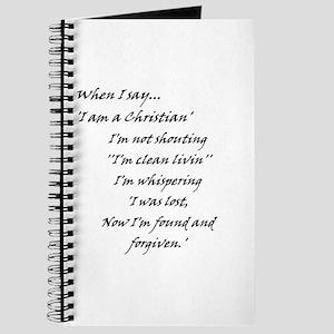Found N Forgiven Journal
