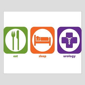 Eat Sleep Urology Small Poster