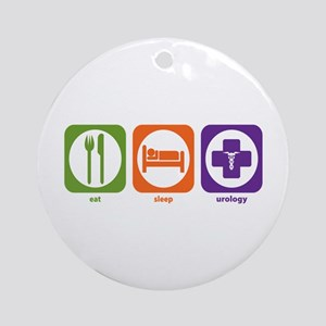 Eat Sleep Urology Ornament (Round)