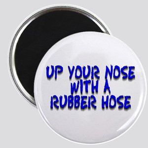 Up Your Nose With a Rubber... Magnet