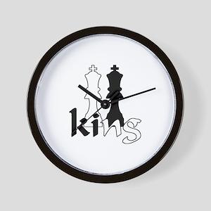Chess King Wall Clock
