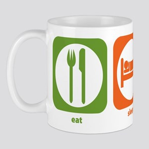 Eat Sleep Trebuchet Mug