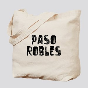 Paso Robles Faded (Black) Tote Bag