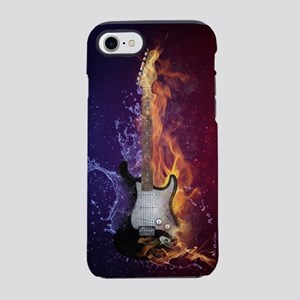 Cool Music Guitar Fire Water iPhone 8/7 Tough Case