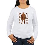 Yeti Lives Women's Long Sleeve T-Shirt