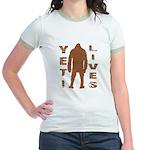 Yeti Lives Jr. Ringer T-Shirt
