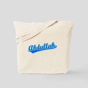 Retro Abdullah (Blue) Tote Bag