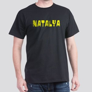 Natalya Faded (Gold) Dark T-Shirt