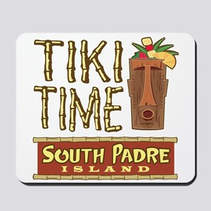 Tiki Time on South Padre - Mousepad