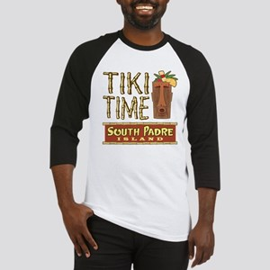 Tiki Time on South Padre - Baseball Jersey