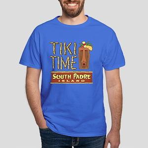 Tiki Time on South Padre - Dark T-Shirt