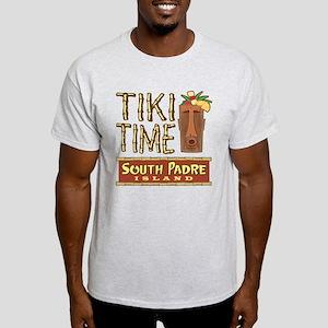Tiki Time on South Padre - Light T-Shirt