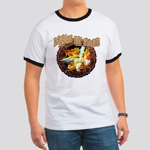 release the hunter bow hunter t-shirts Ringer T