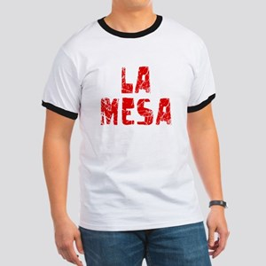 La Mesa Faded (Red) Ringer T