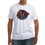Red Panda Adventures Fitted T-Shirt
