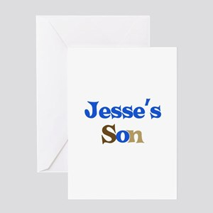 Jesse's Son Greeting Card