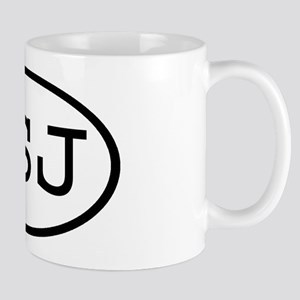 PSJ Oval Mug