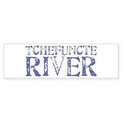 Tchefuntcte River Bumper Bumper Sticker
