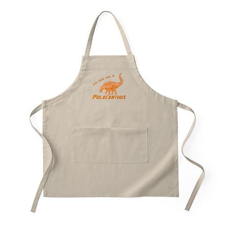 Orange Polacanthus BBQ Apron