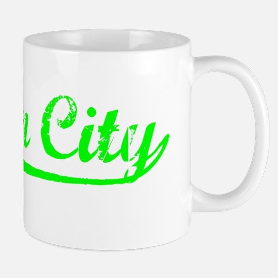 Vintage Suisun City (Green) Mug
