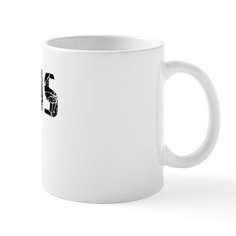 Pinellas Park Faded (Black) Mug