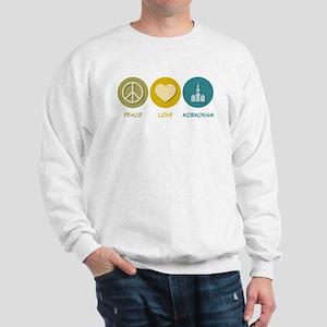 Peace Love Mormonism Sweatshirt
