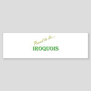 Iroquois Bumper Sticker (10 pk)
