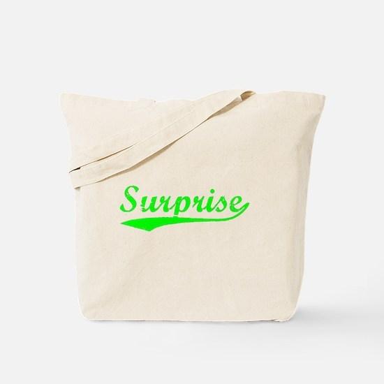Vintage Surprise (Green) Tote Bag