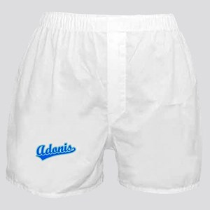 Retro Adonis (Blue) Boxer Shorts