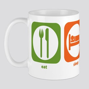 Eat Sleep Slavic Cultures Mug