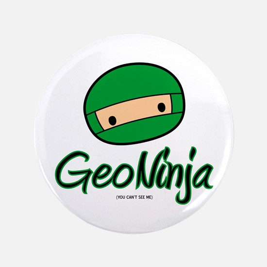"""GeoNinja 3.5"""" Button"""