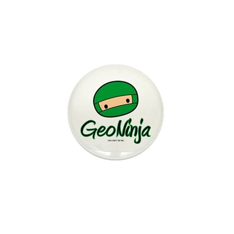GeoNinja Mini Button (100 pack)