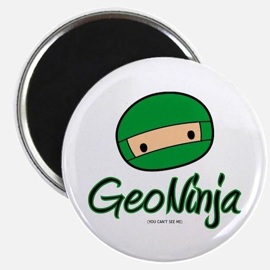 "GeoNinja 2.25"" Magnet (100 pack)"