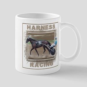 Brown Harness Racing Mug
