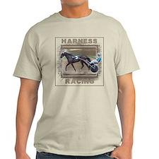 Brown Harness Racing Light T-Shirt