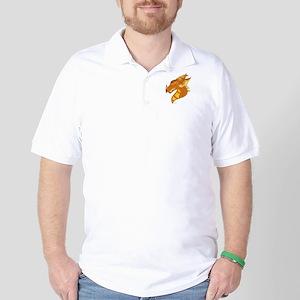 Fire Drake Golf Shirt