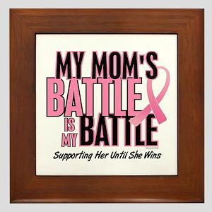 My Battle 1 (Mom BC) Framed Tile