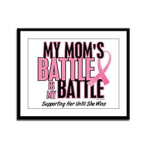 My Battle 1 (Mom BC) Framed Panel Print